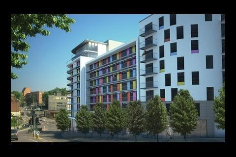 Images development by Redrow Homes in Bournemouth, by Cube Design